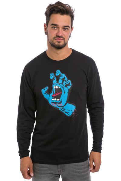 Santa Cruz Screaming Hand Longues Manches (black)