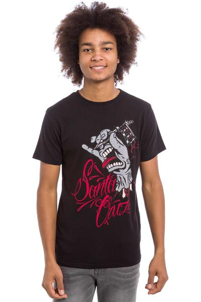 Santa Cruz Tattooing Hand T-Shirt (black)