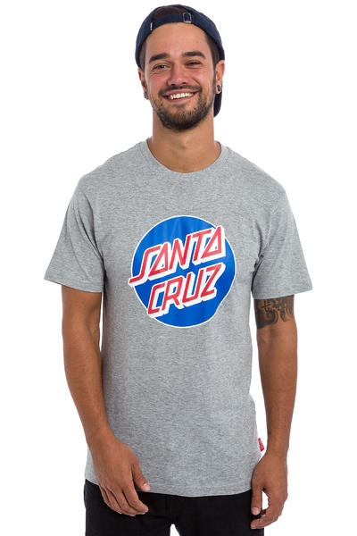 Santa Cruz Classic Dot T-Shirt (dark heather)