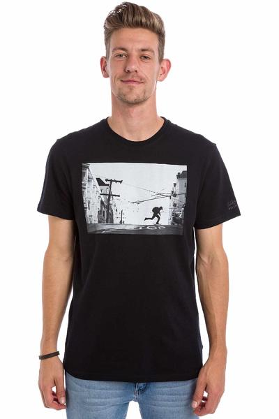 Element Perspective Brian Gaberman T-Shirt (flint black)