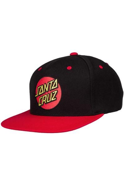 Santa Cruz Classic Snapback Cap (red black)