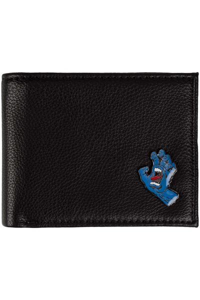 Santa Cruz Screaming Bi-Fold Portefeuille (black)