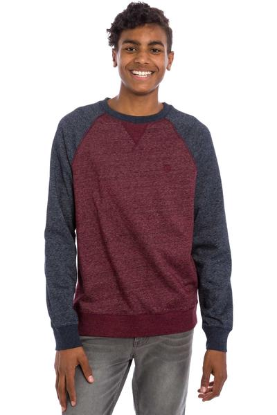 Element Meridian Sweatshirt (eclipse navy napa red)