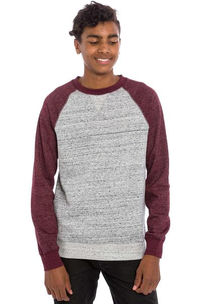 Element Meridian Sweatshirt (napa red grey heather)