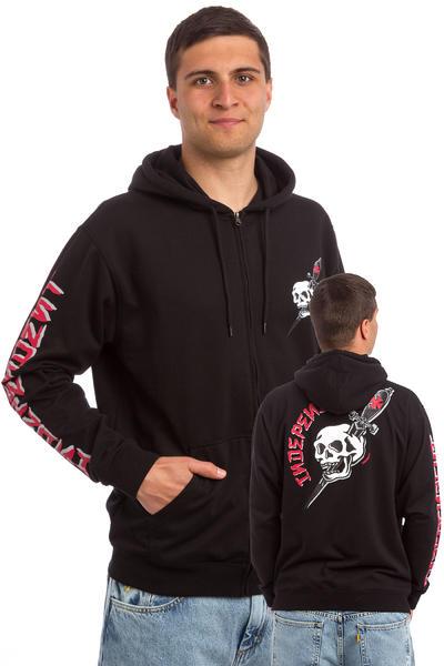 Independent Dressen Skull Zip-Hoodie (black)