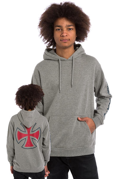 Independent Cross Hoodie (dark heather)