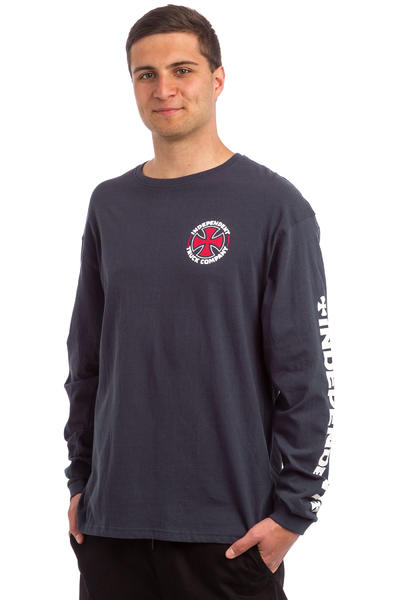 Independent ITC Cross Longsleeve (indigo)