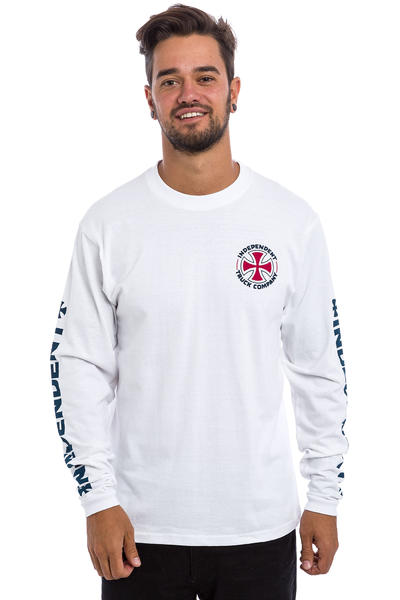 Independent ITC Cross Longsleeve (white)