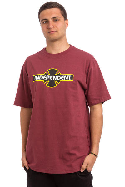 Independent OGBC T-Shirt (oxblood)