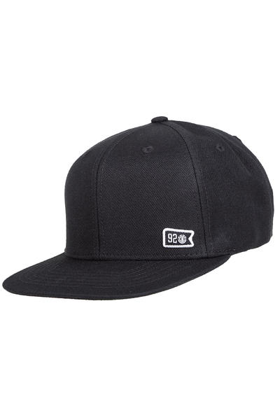 Element 92 Crew Snapback Cap (flint black)