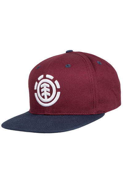 Element Knutsen Snapback Casquette (napa red)