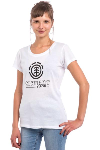 Element Logo SSCN T-Shirt women (white)