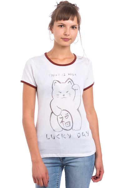 Element Lucky Cat T-Shirt women (white)