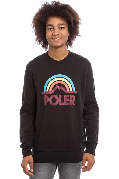 Poler Mountain Rainbow Sweatshirt (black)