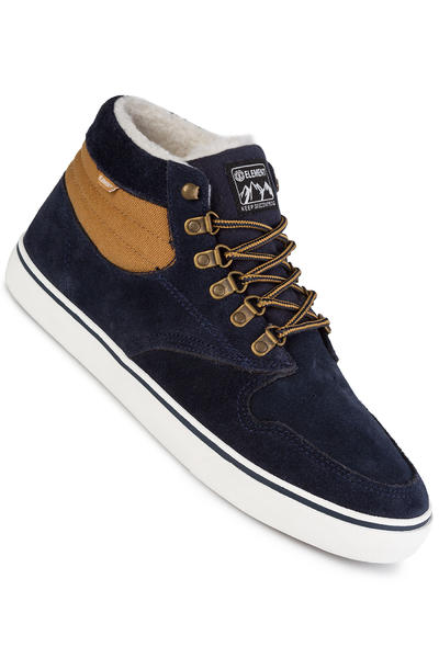 Element Topaz C3 Mid Suede Shoe (navy curry)
