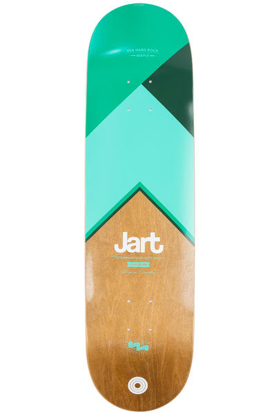"Jart Skateboards Royal 8.25"" Deck (brown turquoise)"