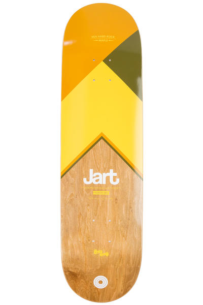 "Jart Skateboards Royal 8.5"" Deck (brown yellow)"