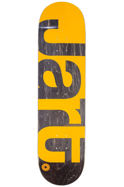 "Jart Skateboards Caviar 8.125"" Deck (yellow)"