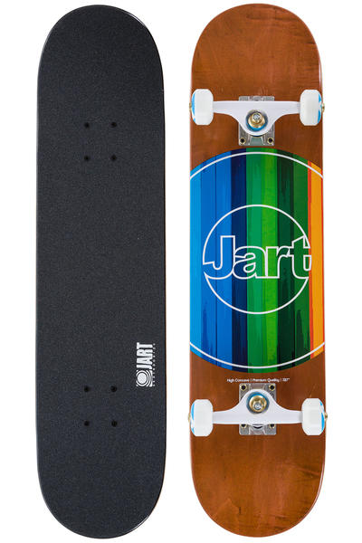 "Jart Skateboards Code 7.875"" Complete-Board (brown)"