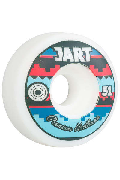 Jart Skateboards Tipi 51mm Rollen (multi) 4er Pack