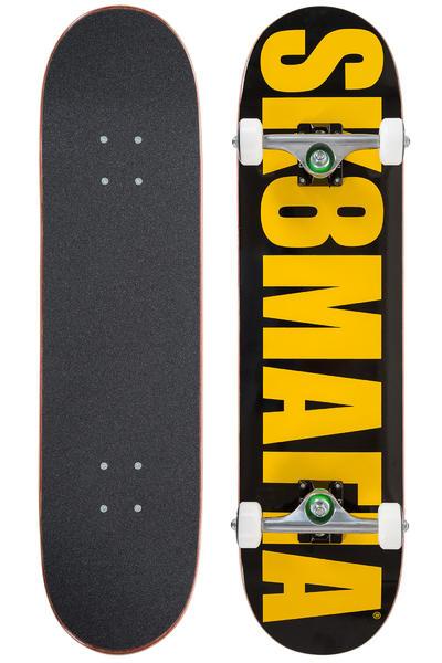 """Sk8Mafia OG Killa Beez 7.875"""" Board-Complète (black yellow)"""