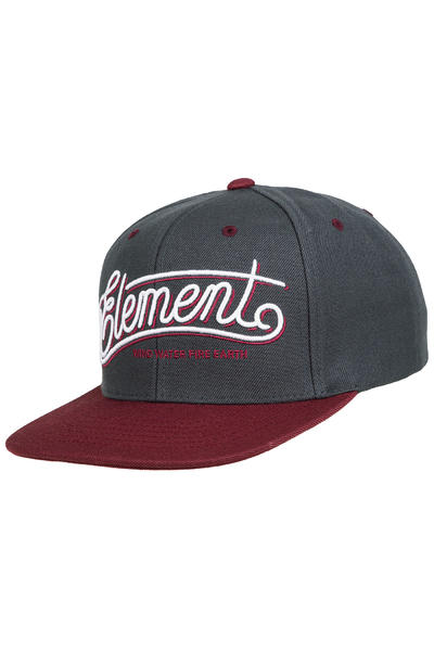 Element Legacy Snapback Casquette (napa red)