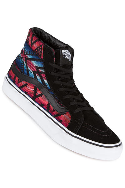 Vans Sk8-Hi Slim Schuh women (maroccan geo black true white)