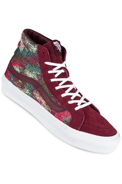 Vans Sk8-Hi Slim Schuh women (italian weave port royale multi)