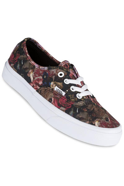 Vans Authentic Shoe women (moody floral black true white)