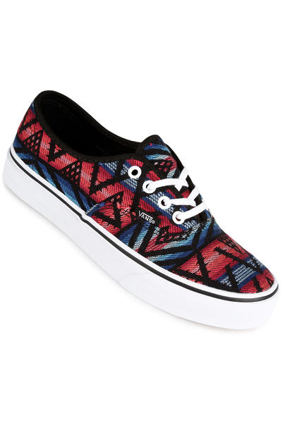 Vans Authentic Schuh women (moroccan geo black true white)