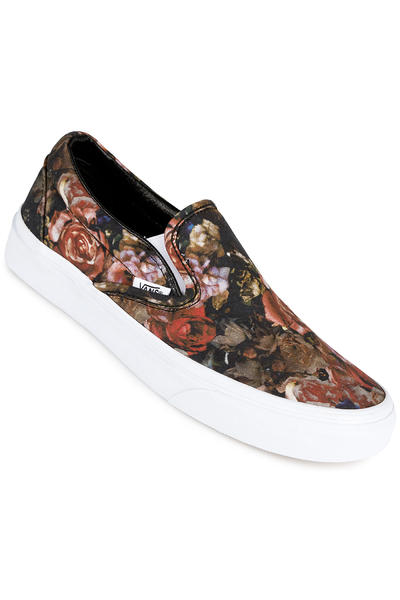 Vans Classic Slip-On Schuh women (moody floral black true white)