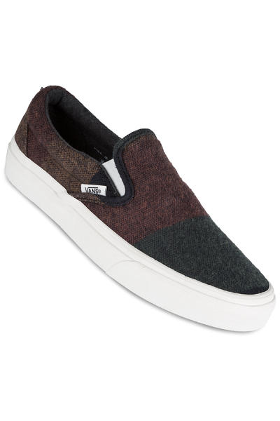 Vans Classic Slip-On Schuh women (wool stripes multi blanc)