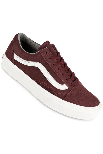 Vans Old Skool Schuh women (varsity red mahogany blanc)