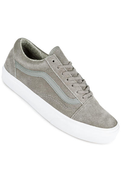 Vans Old Skool Schuh women (woven grey true white)