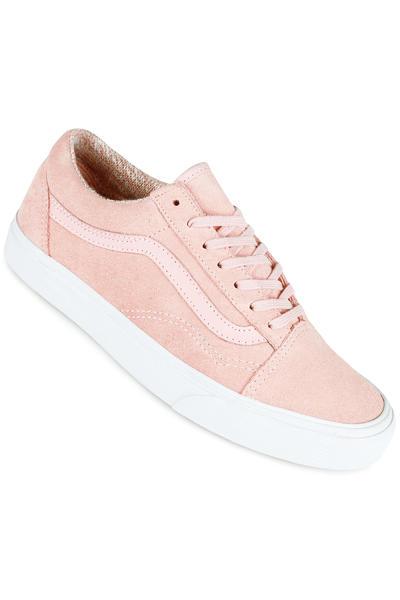 Vans Old Skool Shoe women (woven peachskin true white)