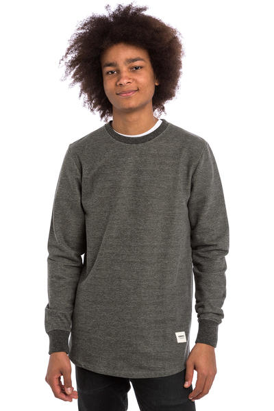 Wemoto Melton Sweatshirt (black melange)