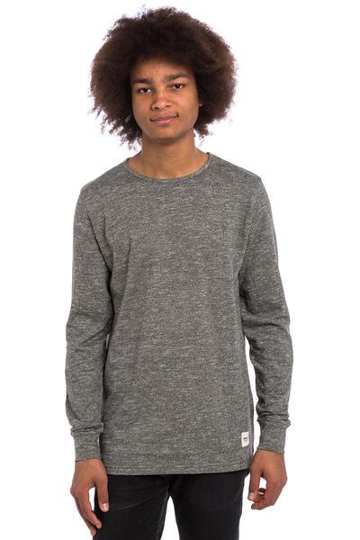 Wemoto Dundee Camiseta de manga larga (black melange)