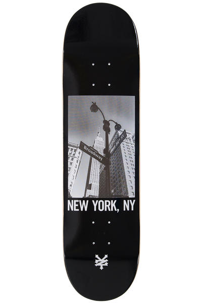 """Zoo York Broadway 8.125"""" Deck (black)"""