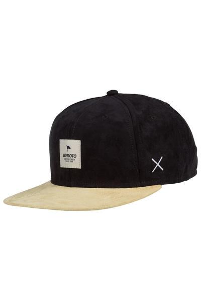 Wemoto Flag Snapback Cap (black)