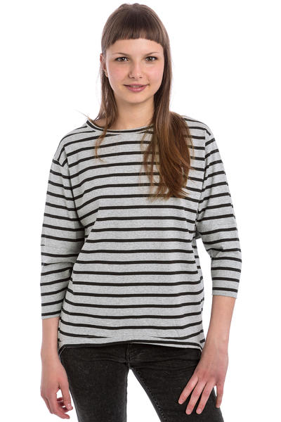 Wemoto Brighton Stripe Longsleeve women (heather black)