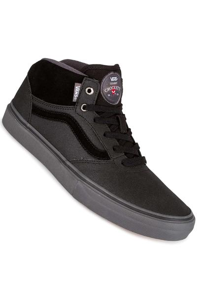 Vans Gilbert Crockett Pro Mid Schuh (xtuff black grey)