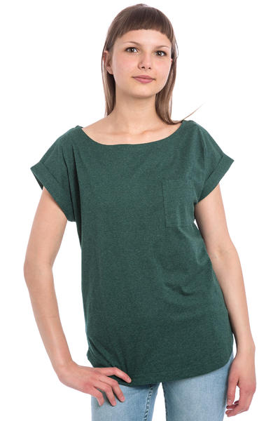 Wemoto Bell T-Shirt women (green melange)