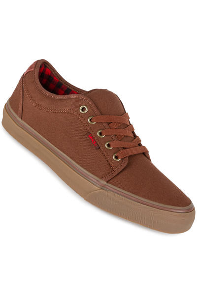 Vans Chukka Low Schuh (buffalo plaid brown gum)
