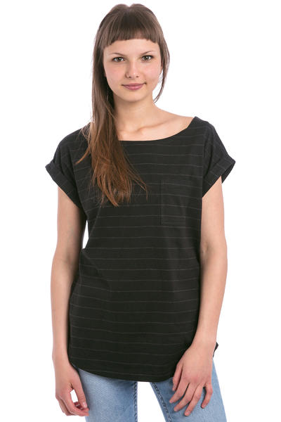 Wemoto Bell Stripe T-Shirt women (black)