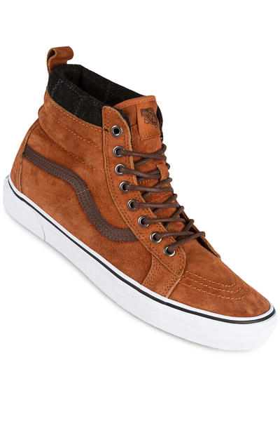 Vans Sk8-Hi MTE Chaussure (glazed ginger plaid)