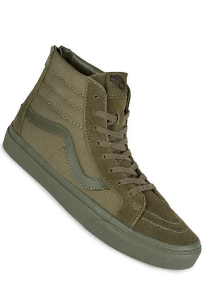 Vans Sk8-Hi Reissue Zip Shoe (mono ivy green)