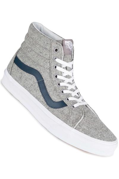 Vans Sk8-Hi Reissue Shoe (varsity grey true white)