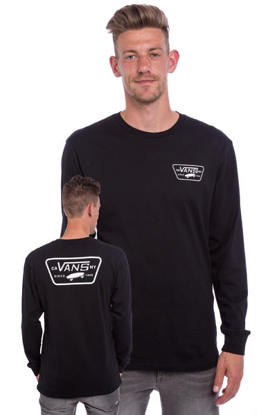 Vans Full Patch Longsleeve (black white)