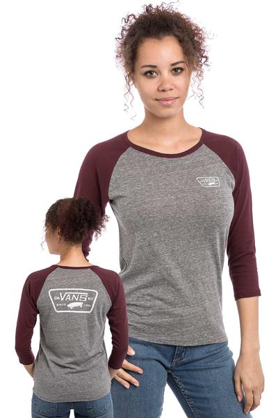 Vans Authentic Trap Raglan Longsleeve women (grey heather port royale)