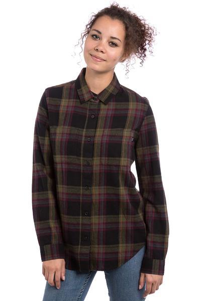 Vans Meridian Camisa de franela women (ivy green)